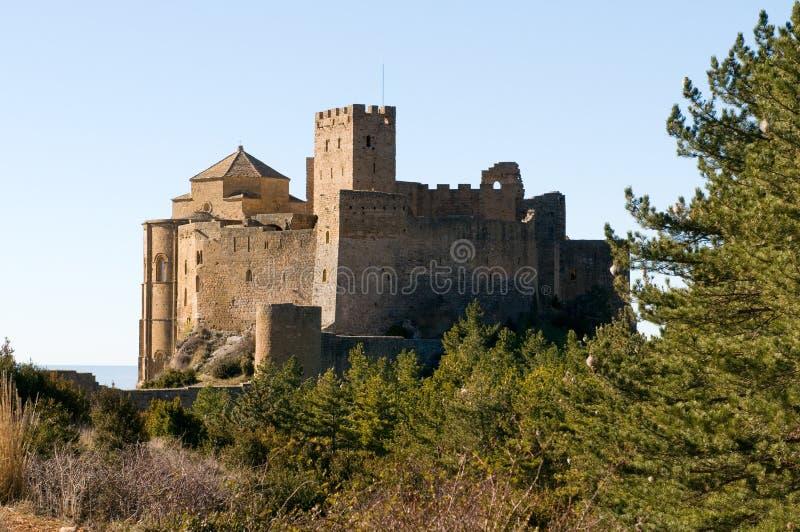 Loarre Castle, Huesca, επαρχία Σαραγόσα, Arragon, Ισπανία στοκ εικόνες