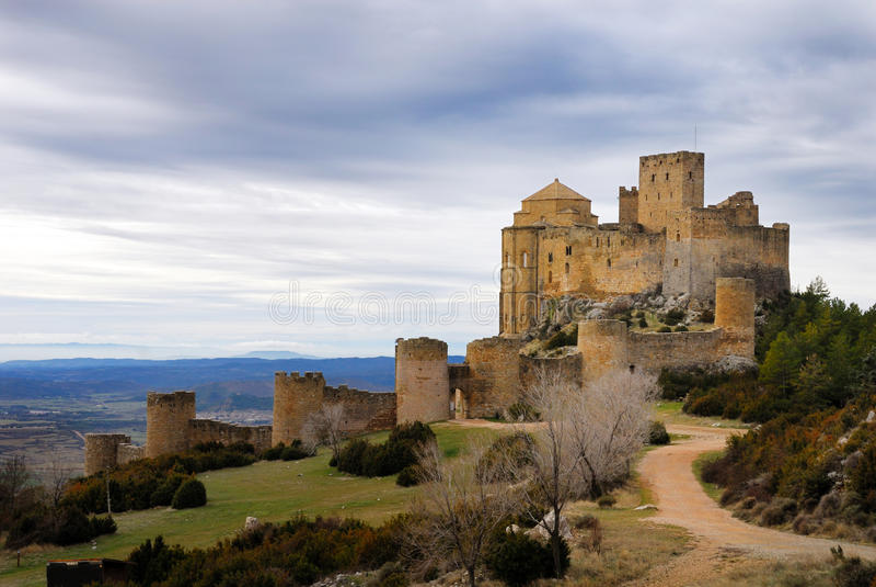 Loarre castle I royalty free stock photo