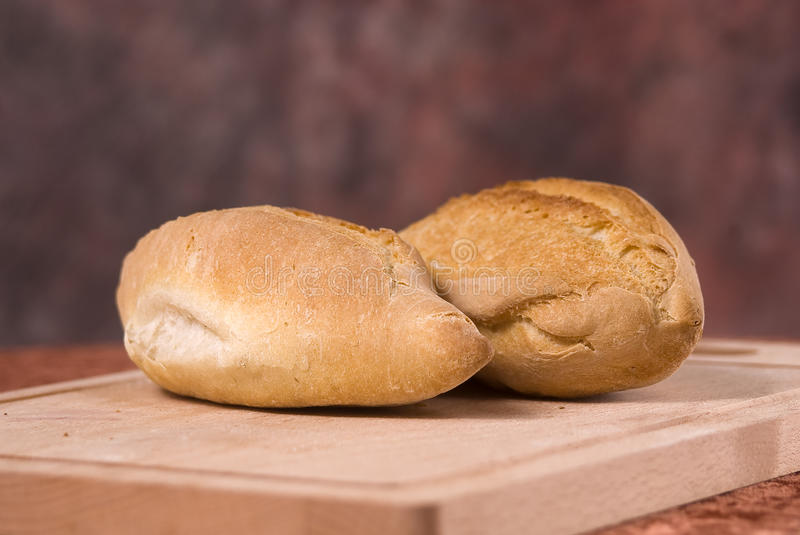 Loaves of fresh bread royalty free stock photography