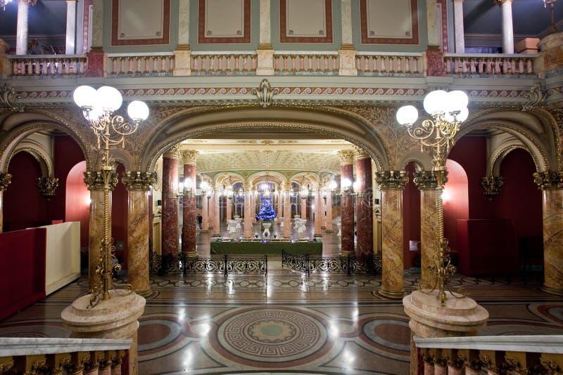 lobby obrazy stock