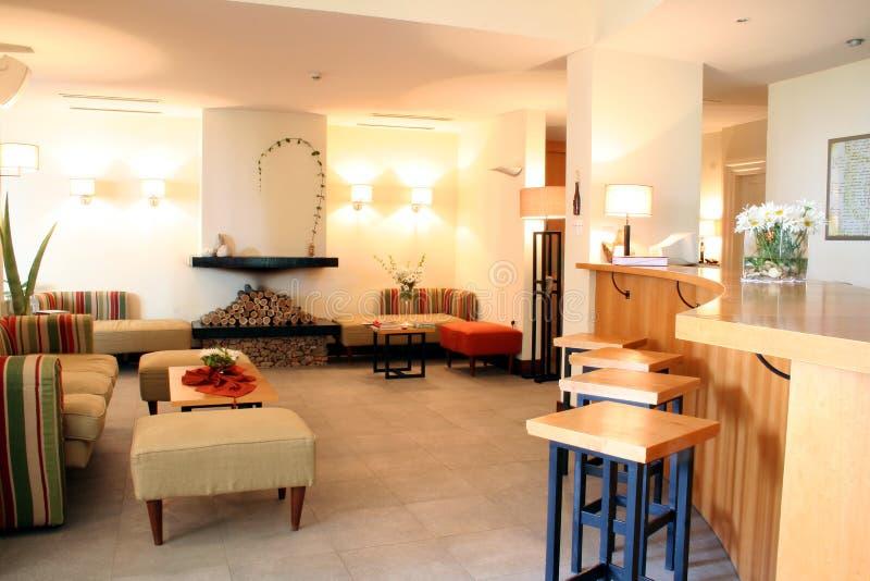 Lobby. Hotel interior