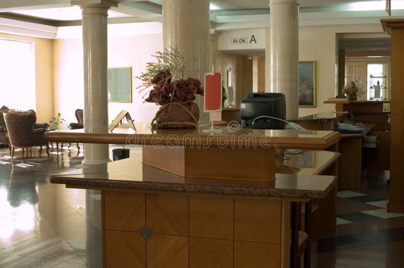lobby royaltyfri fotografi