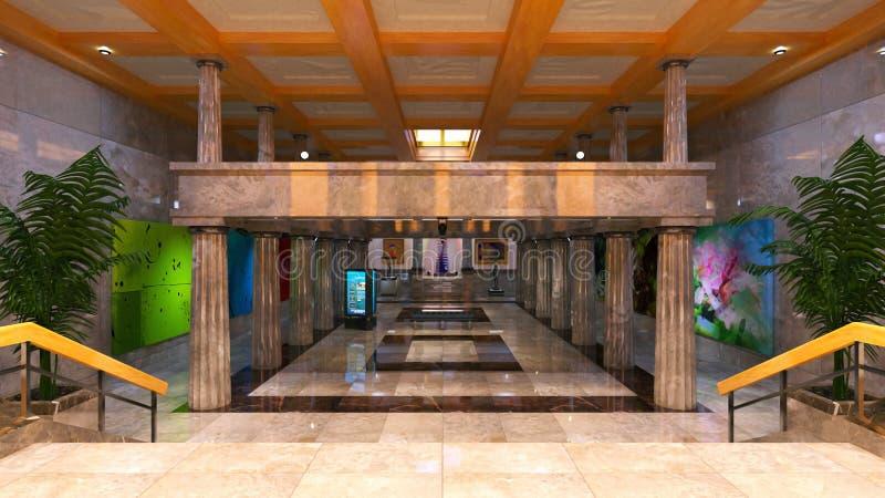 lobby imagem de stock