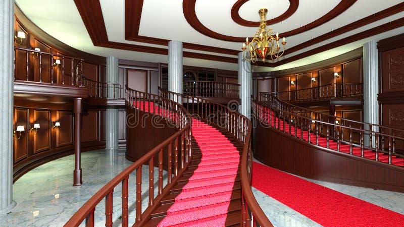 lobby imagem de stock royalty free