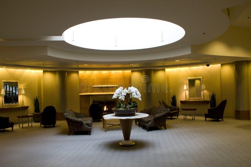 Lobby biznesowy budynek zdjęcia stock