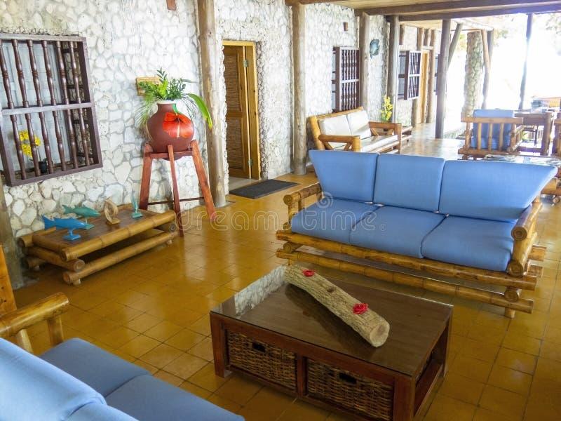Lobby d'hôtel de lieu de villégiature luxueux, voyage, vacances photos libres de droits
