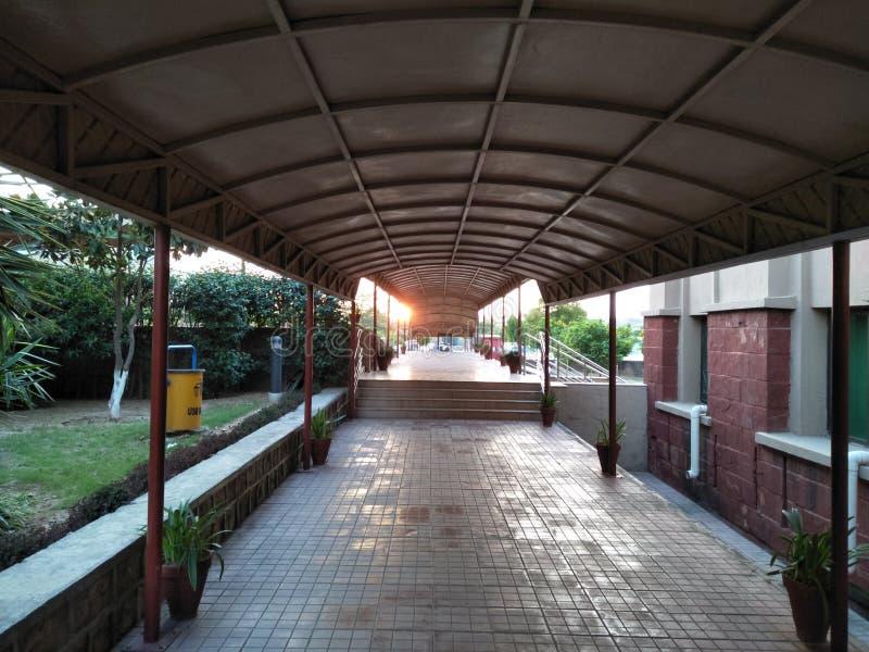 lobby de coucher du soleil photo libre de droits