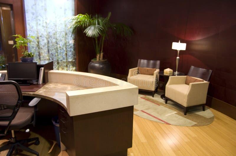 Lobby för hotell 1000 royaltyfri fotografi