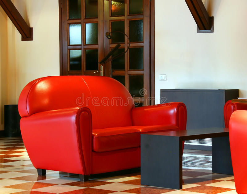 Download Lobby of hotel stock photo. Image of living, hall, furniture - 25140302