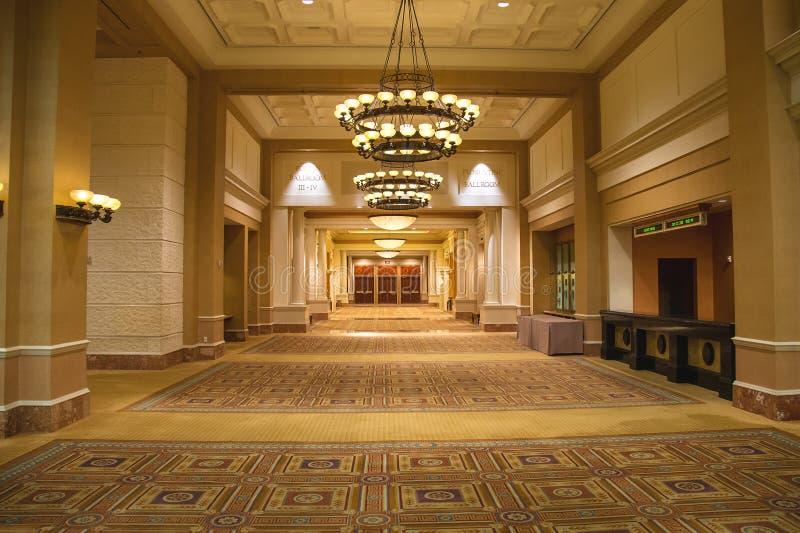 Lobby i Caesar's Palace i Las Vegas royaltyfria foton