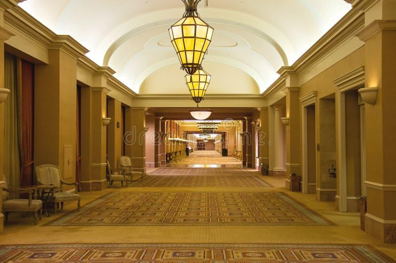Lobby i Caesar's Palace i Las Vegas arkivfoton