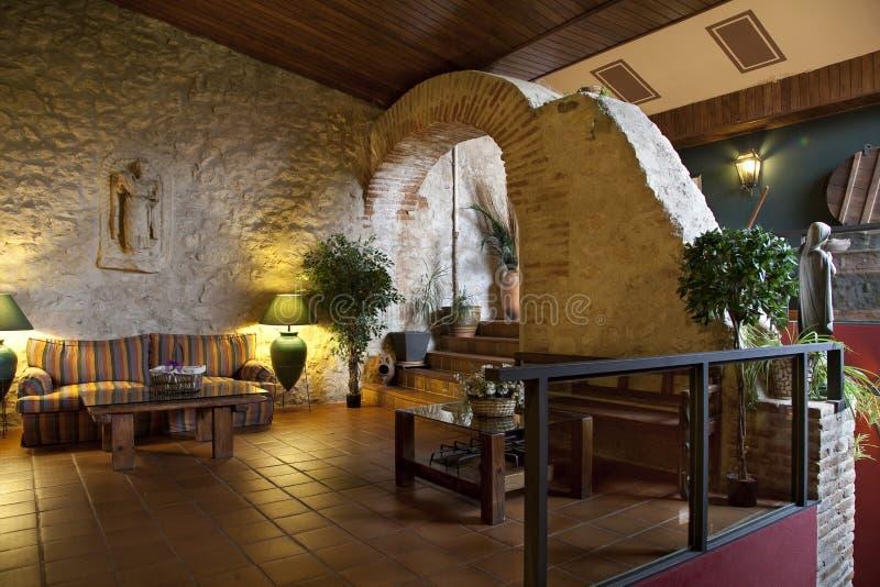 Download Lobby i hotell arkivfoto. Bild av hemhjälp, samtida, konstruktion - 37344852