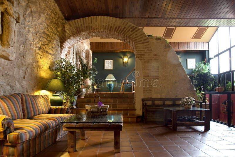 Download Lobby i hotell fotografering för bildbyråer. Bild av brigham - 37345009