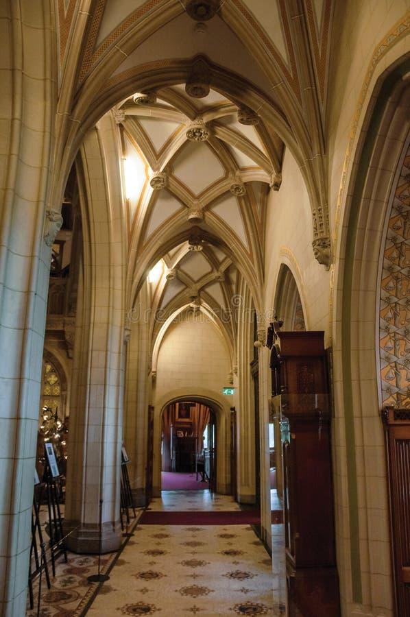 Download Lobby I Sufit W De Haar Roszujący Korytarzu Blisko Utrecht, Obraz Editorial - Obraz złożonej z grawerujący, meble: 106906840