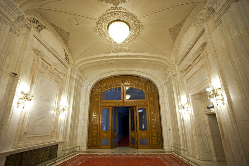 Download Lobby interior stock image. Image of columns, bucharest - 14066769