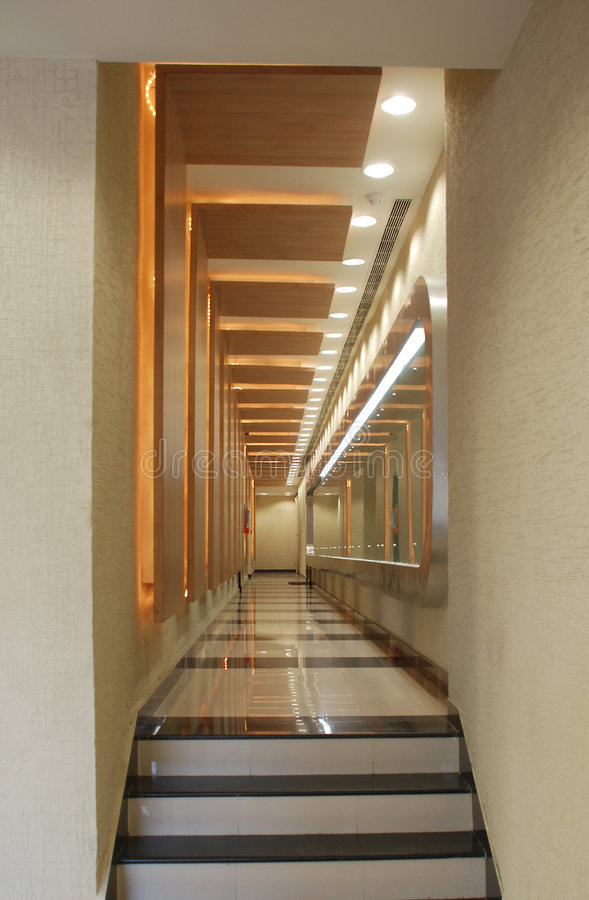 Free Lobby Of A Hotel Stock Image - 5680891
