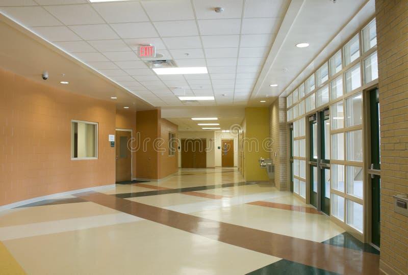 Lobby at School stock photography