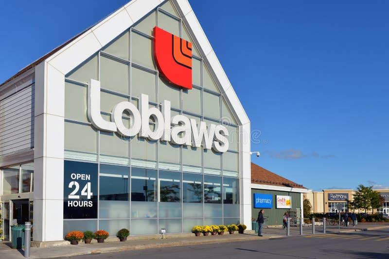 Loblaws商店在渥太华 免版税图库摄影