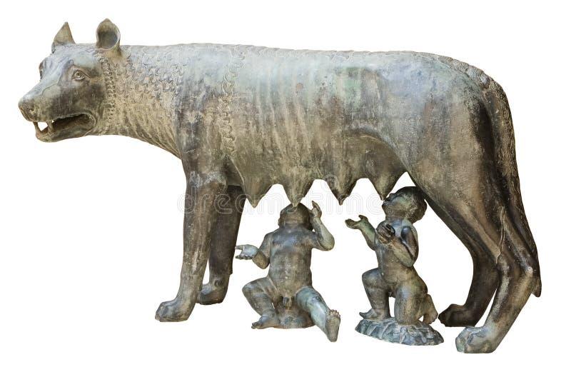 Lobo de Capitoline fotografía de archivo libre de regalías