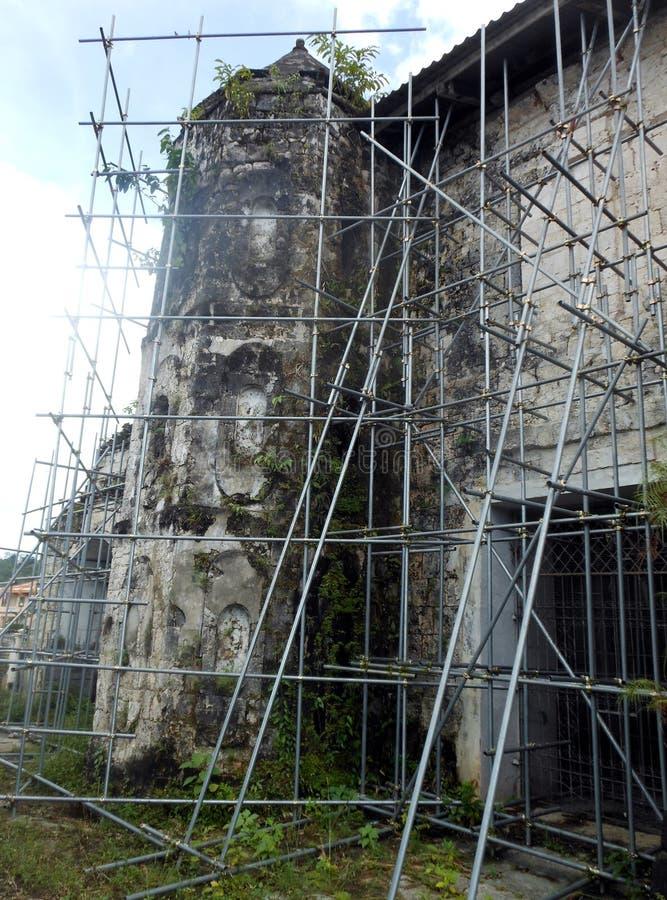 Loboc kyrka, Filippinerna royaltyfri fotografi
