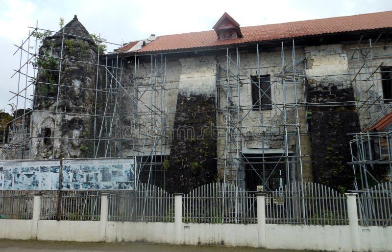 Loboc kyrka, Filippinerna arkivbilder