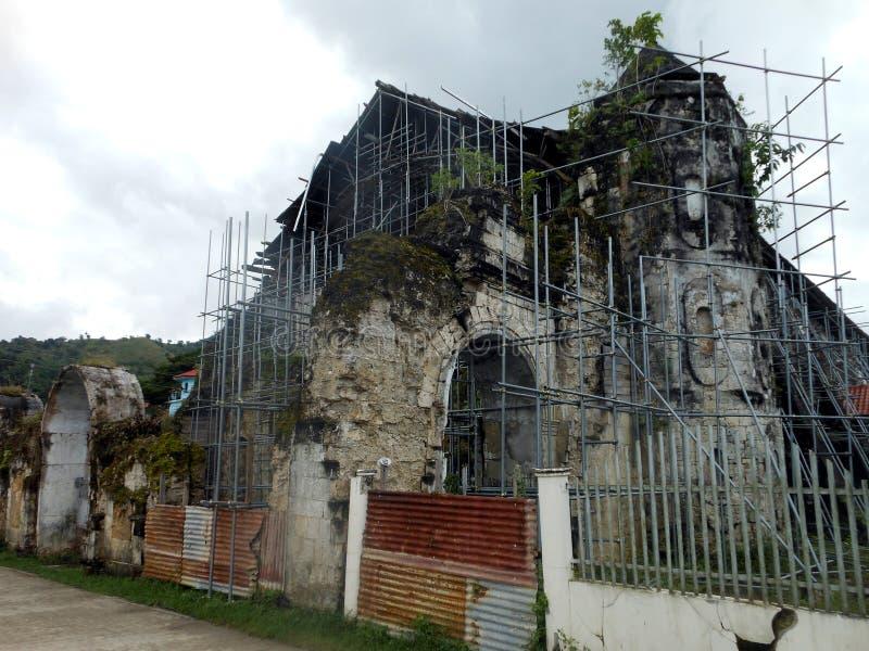 Loboc kyrka, Filippinerna arkivbild