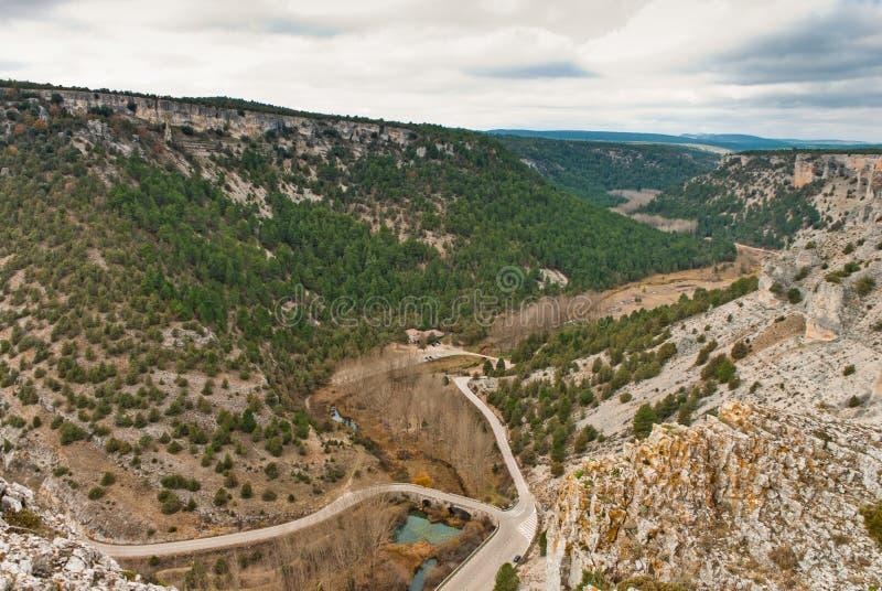 Lobos-Flussschlucht stockfotos
