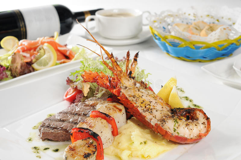 Download Lobster stock photo. Image of delicious, plate, dish - 11849216