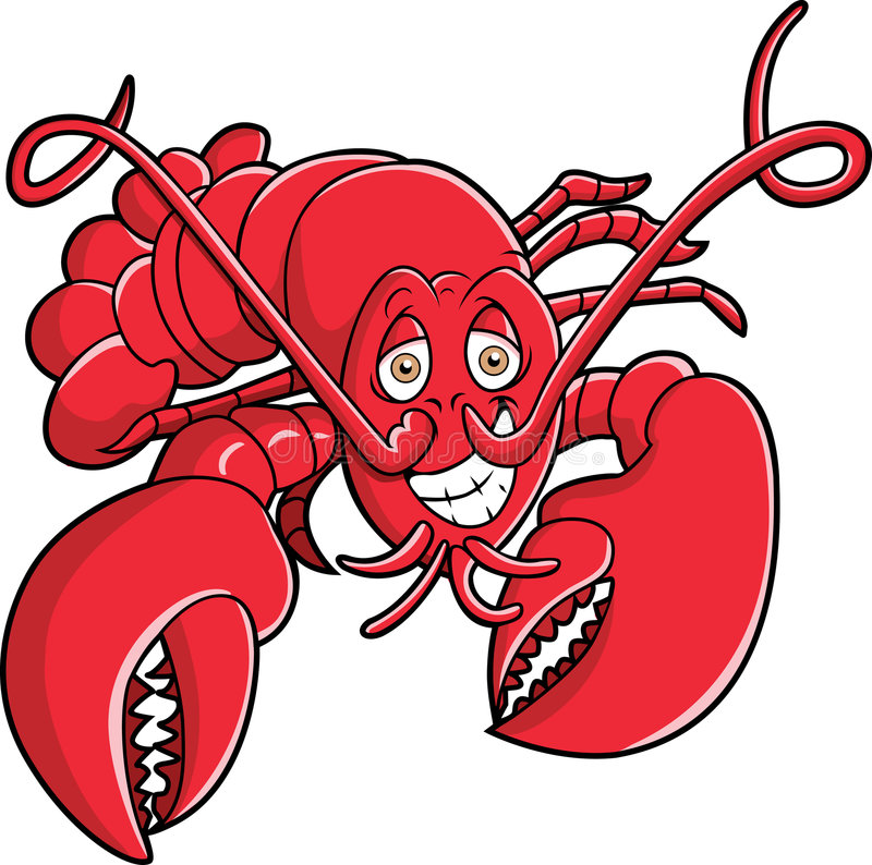 Lobster. This is a ready red lobster vector illustration