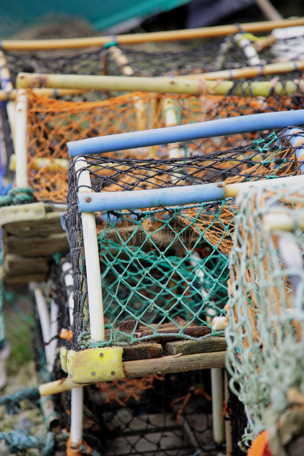 Free Lobster Pots Stock Photography - 1646262