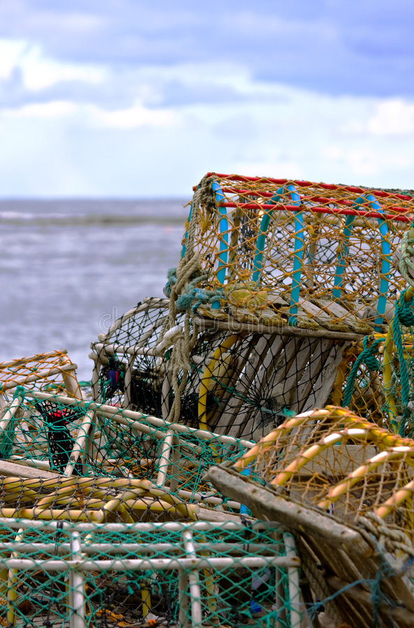 Free Lobster Pots Stock Photo - 4702460