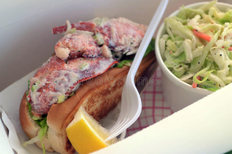 Download Lobster Roll stock photo. Image of meal, roll, claw, sandwich - 25804606