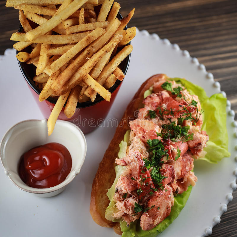Lobster Roll stock image