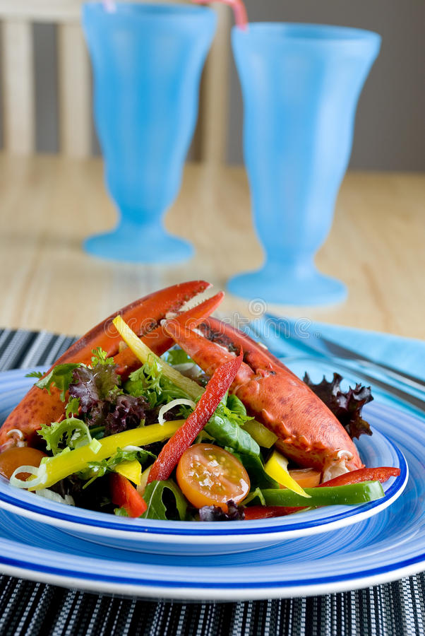 Free Lobster Salad Royalty Free Stock Images - 12736589