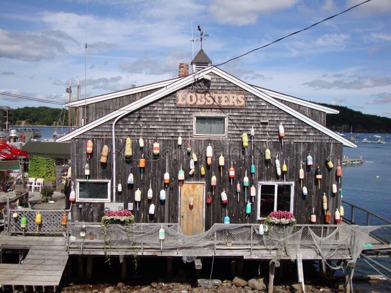 Lobster shack royalty free stock photos