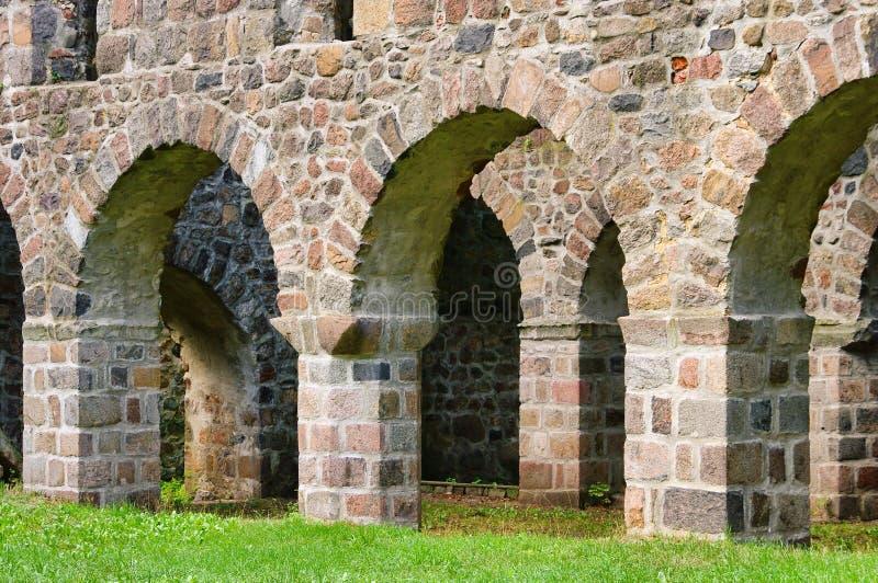 Download Loburg church ruin stock image. Image of boulder, loburg - 20311177