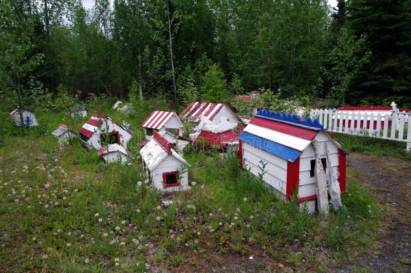 Locais de enterro coloridos Emetery do ¡ de Ð foto de stock royalty free