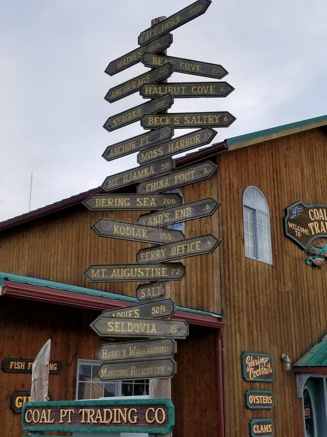 Local Alaska imagens de stock royalty free