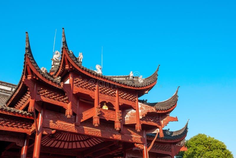 Local antiguo del edificio de China fotos de archivo libres de regalías