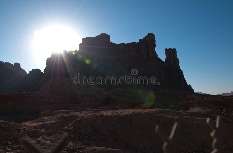 Local arqueológico de Arábia Saudita foto de stock royalty free