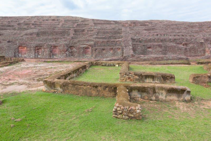 Local arqueológico EL Fuerte de Samaipata (forte Samaipata) imagem de stock royalty free