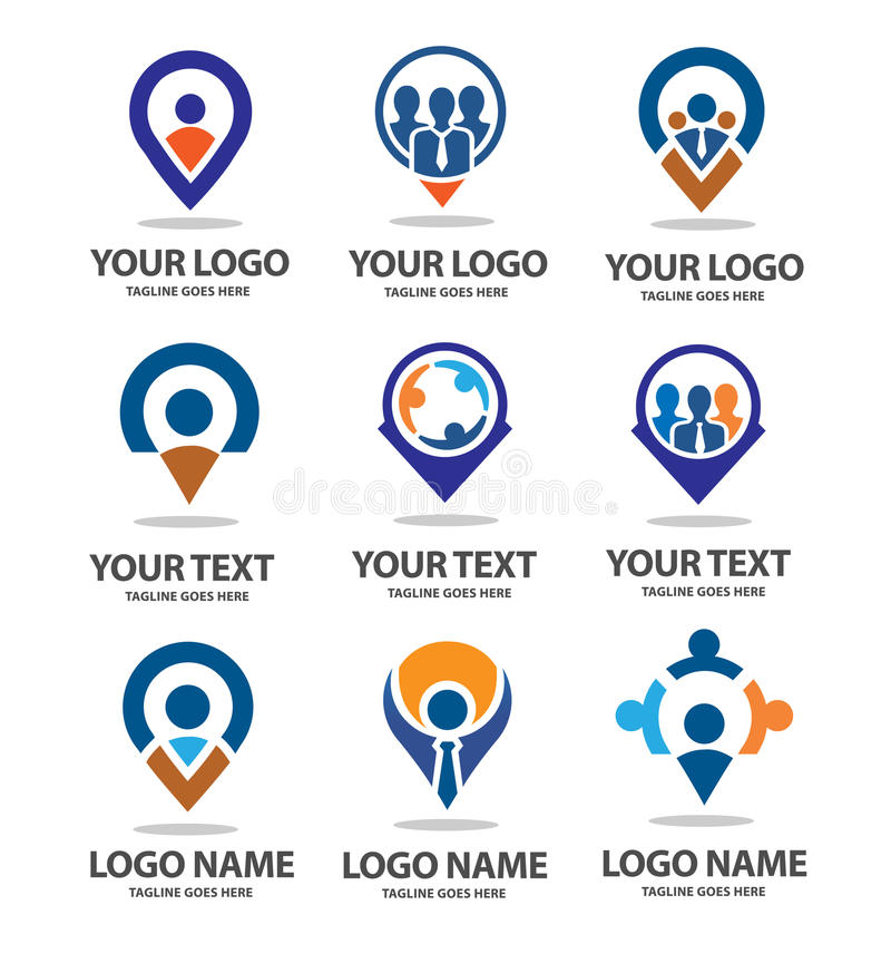 Local business. Is strong, modern and minimalist suitable and perfect for all sport business vector illustration
