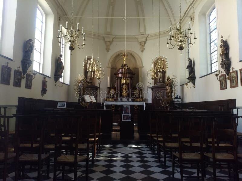 local Church in belgium stock images
