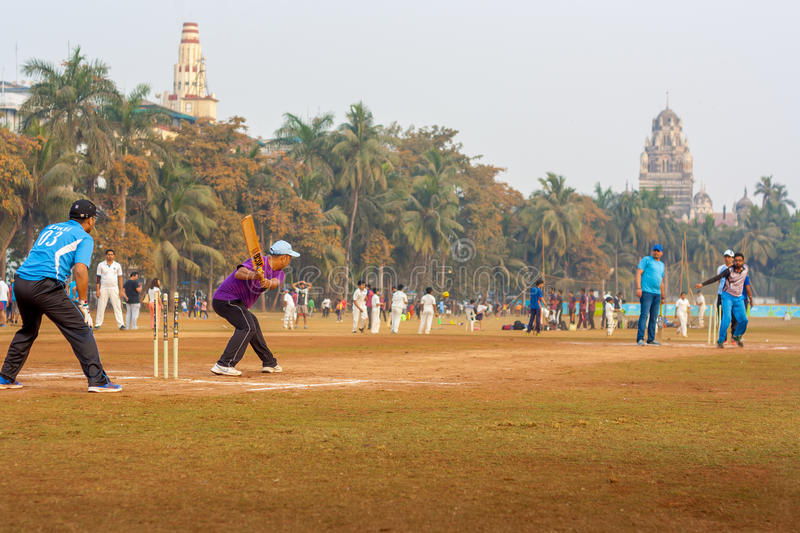 Download Local Cricket Match At Mumbai Editorial Photo - Image of game,  sport: 90161031