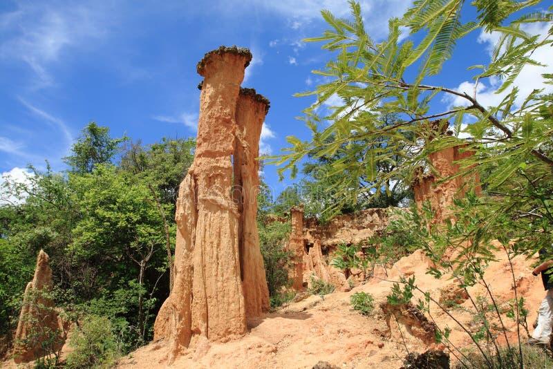 Local da Idade da Pedra de Isimila imagens de stock royalty free