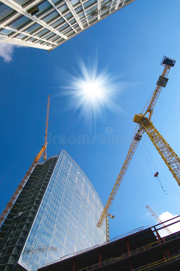 Local das obras foto de stock royalty free