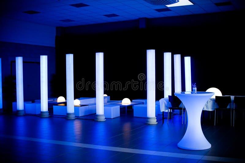 Local de encontro do banquete de casamento fotos de stock royalty free