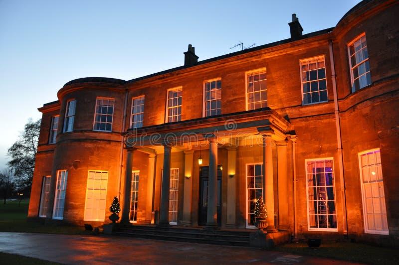 Local de encontro do casamento da mansão do harrogate de Yorkshire foto de stock royalty free