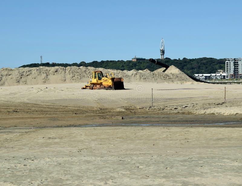 Local de manutenção da praia foto de stock royalty free