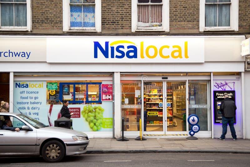 Local de Nisa foto de archivo